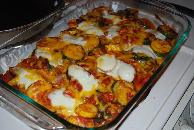 Italian summer squash polenta bake eat to live live to run - Cena ligera romantica ...